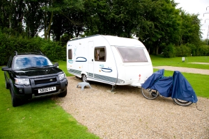Pitched at Kelvedon Hatch