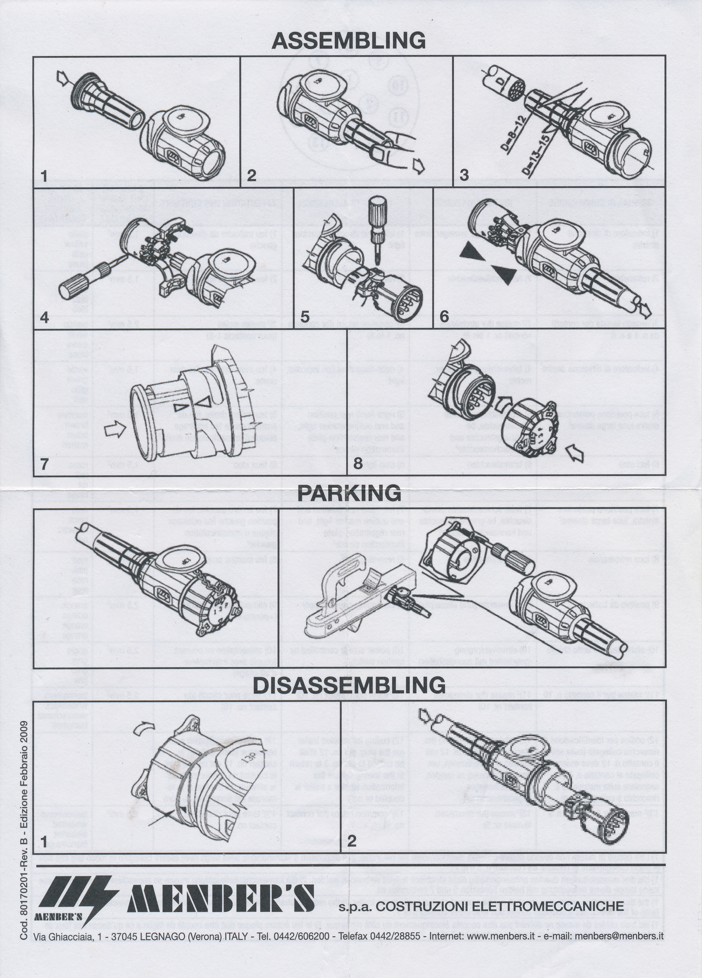 13 pin plug assembly instructions page 1 the 13 pin plug puzzle caravan chronicles euro 13 pin plug wiring diagram at gsmx.co