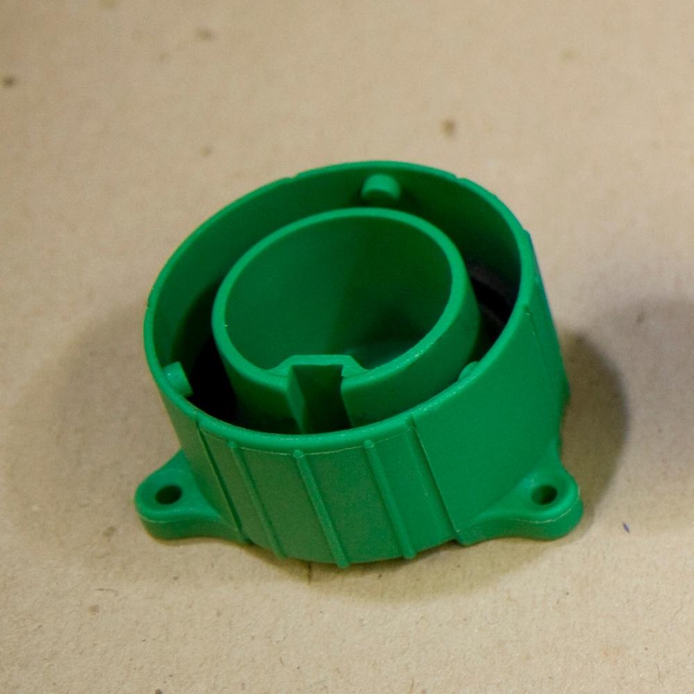 13 Pin Plug... the green cap arrives!