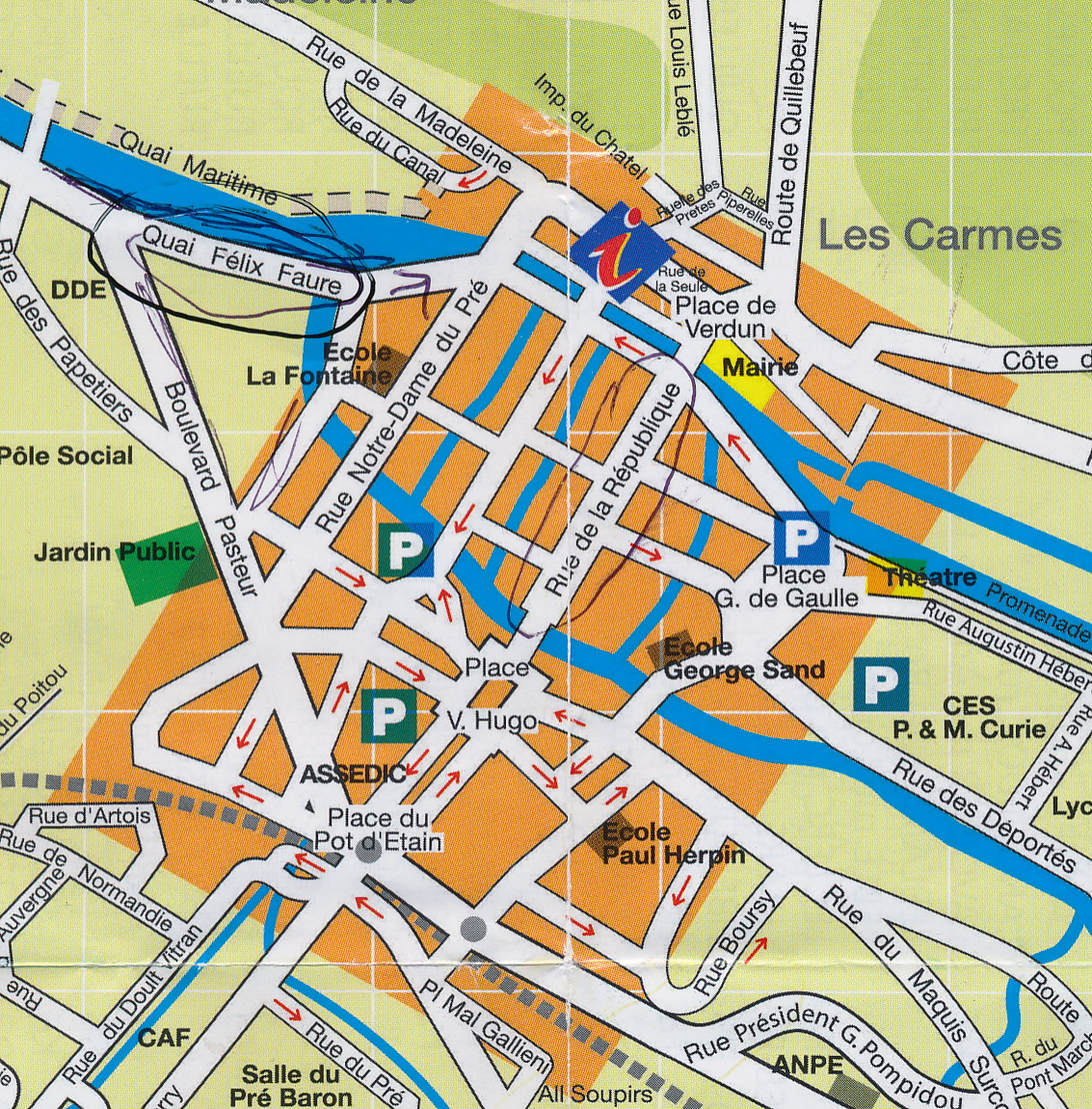 Travelling In Europe – Streetmap France