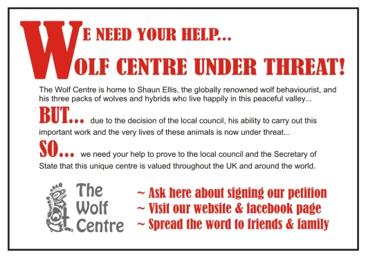The Wolf Centre Poster