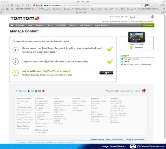 TomTom Screen 03
