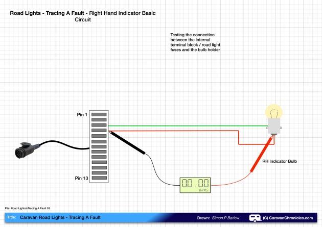 Road Lights - Tracing A Fault 03A