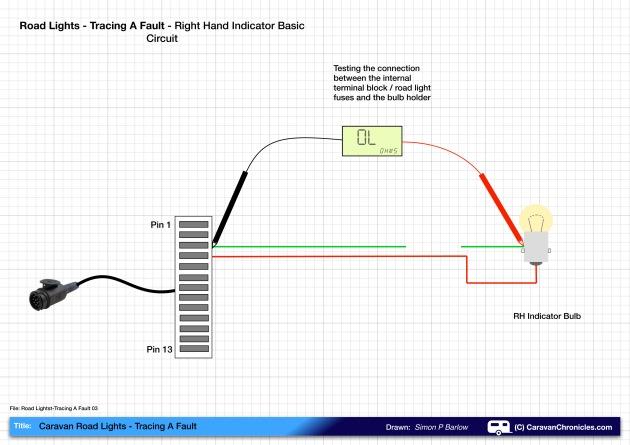 Road Lights - Tracing A Fault 03B