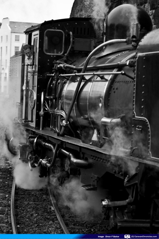 Why is it steam engines always look better in 'moody' black & white?