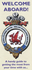Image (c) Ffestiniog & Welsh Highland Railways