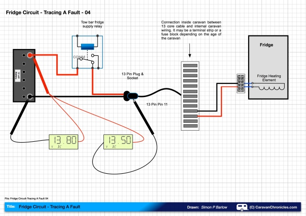 Fridge Circuit-Tracing A Fault 04