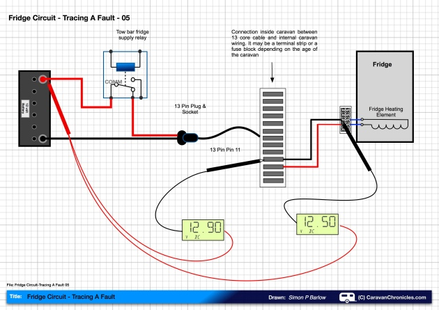 Fridge Circuit-Tracing A Fault 05