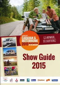 2015 Caravan & Motorhome Show Cover