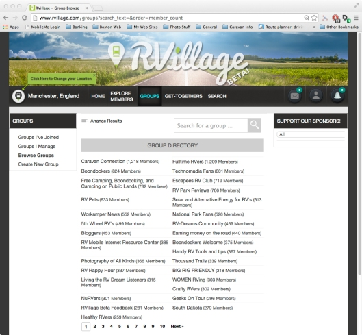 Screen - RVillage Groups2
