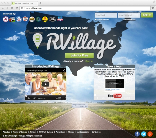 Screen - RVillage Home
