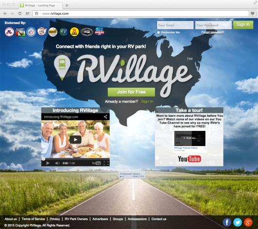 Screen - RVillage Home