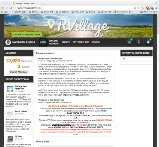 Screen - RVillage Member