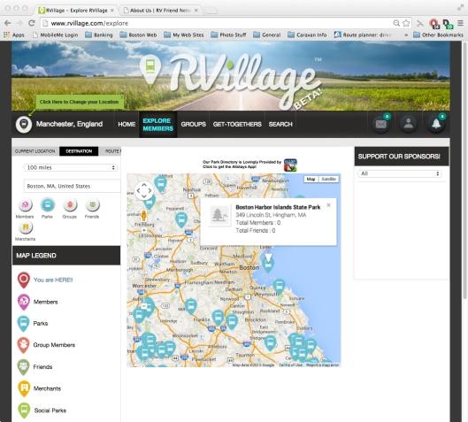 Screen - RVillage Site1