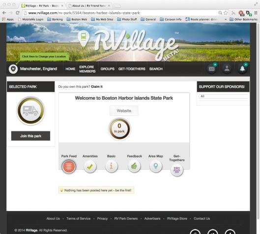 Screen - RVillage Site2