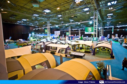 Not into caravans or motorhomes... well there's a shed full of tents too!