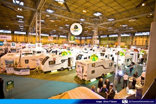 What a lot of shiny caravans!