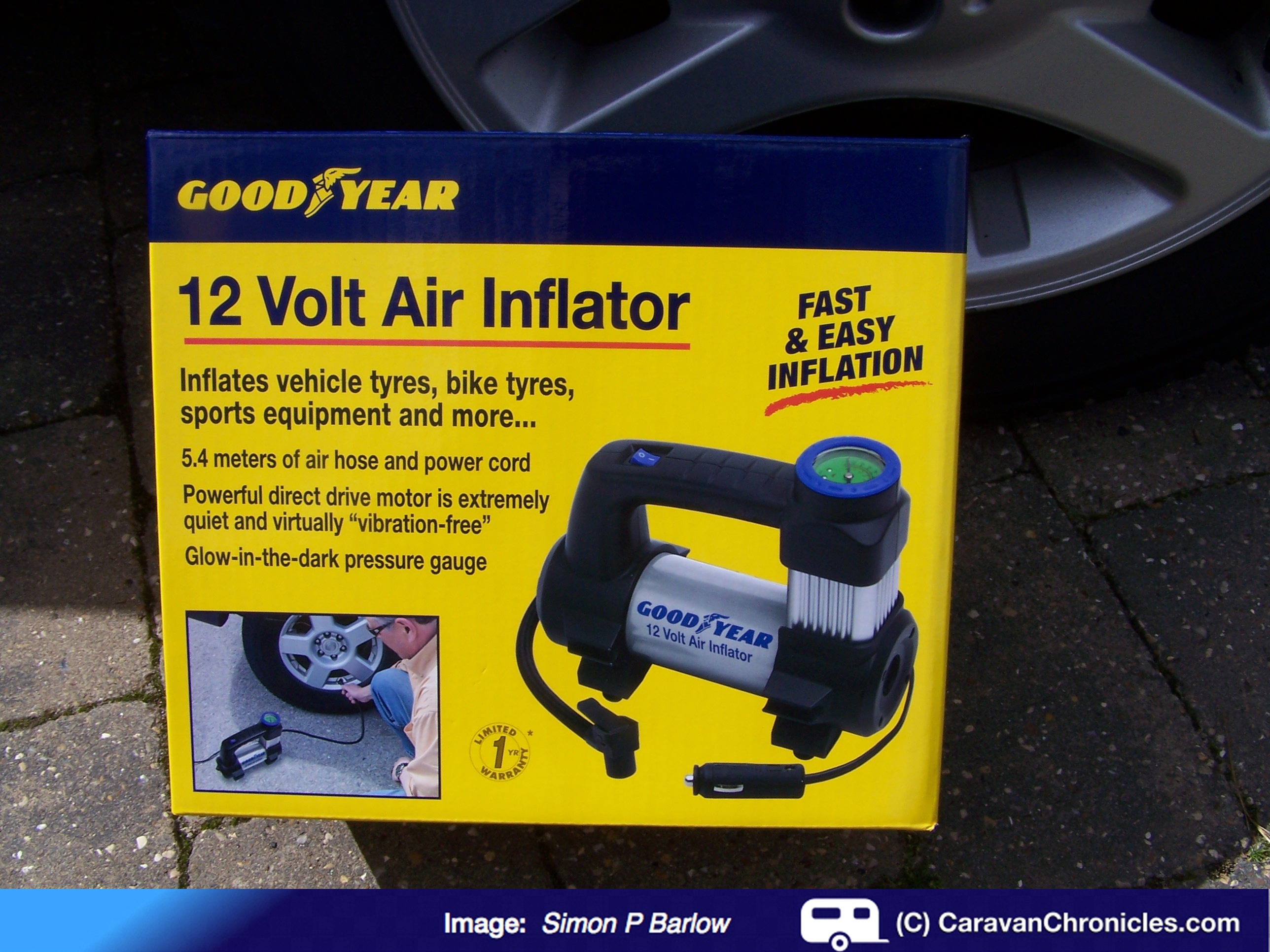 Product Review Goodyear 12 Volt Air Inflator Caravan