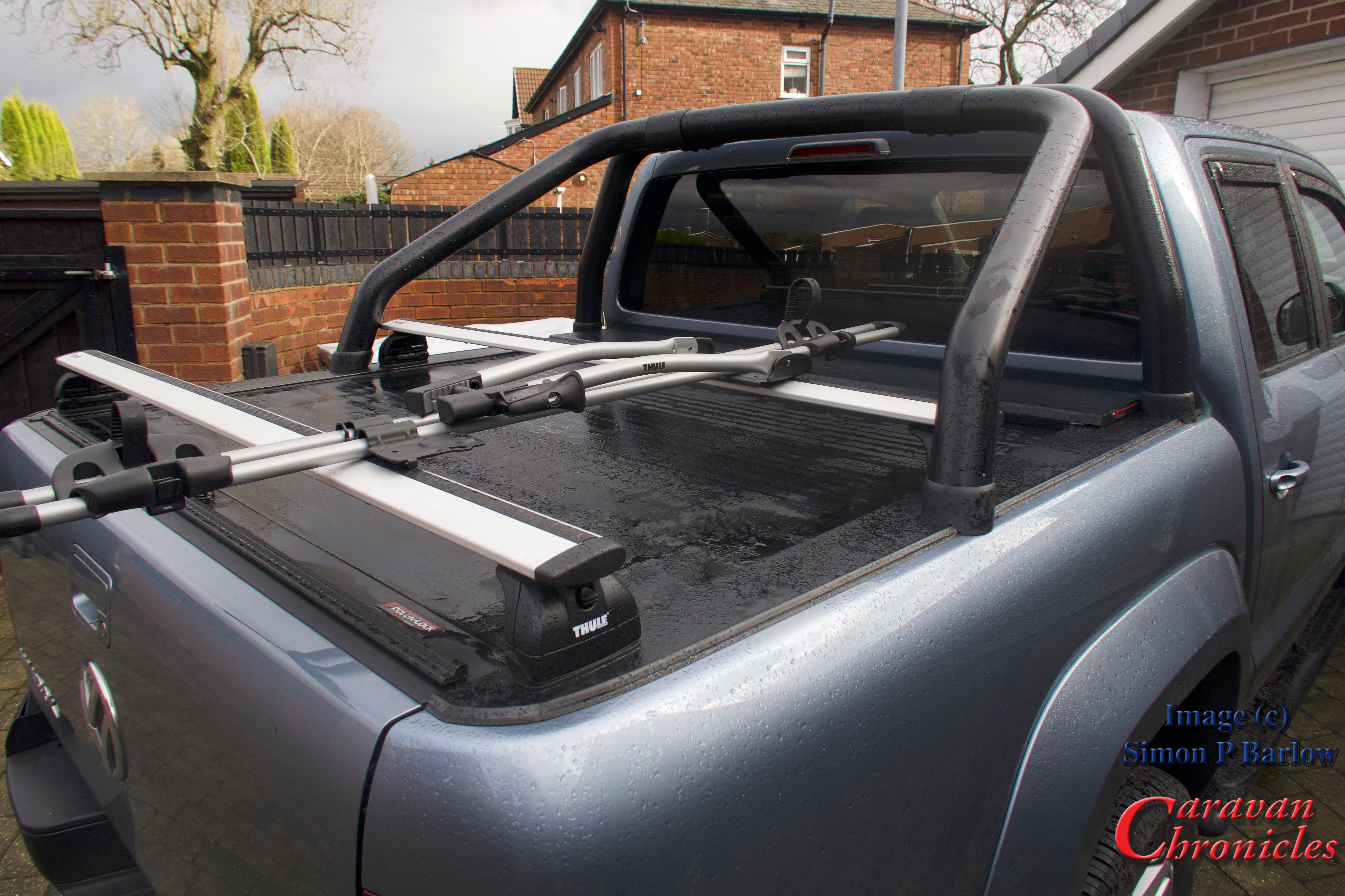 Fitting A Bike Rack To The Vw Amarok Part 1 Caravan