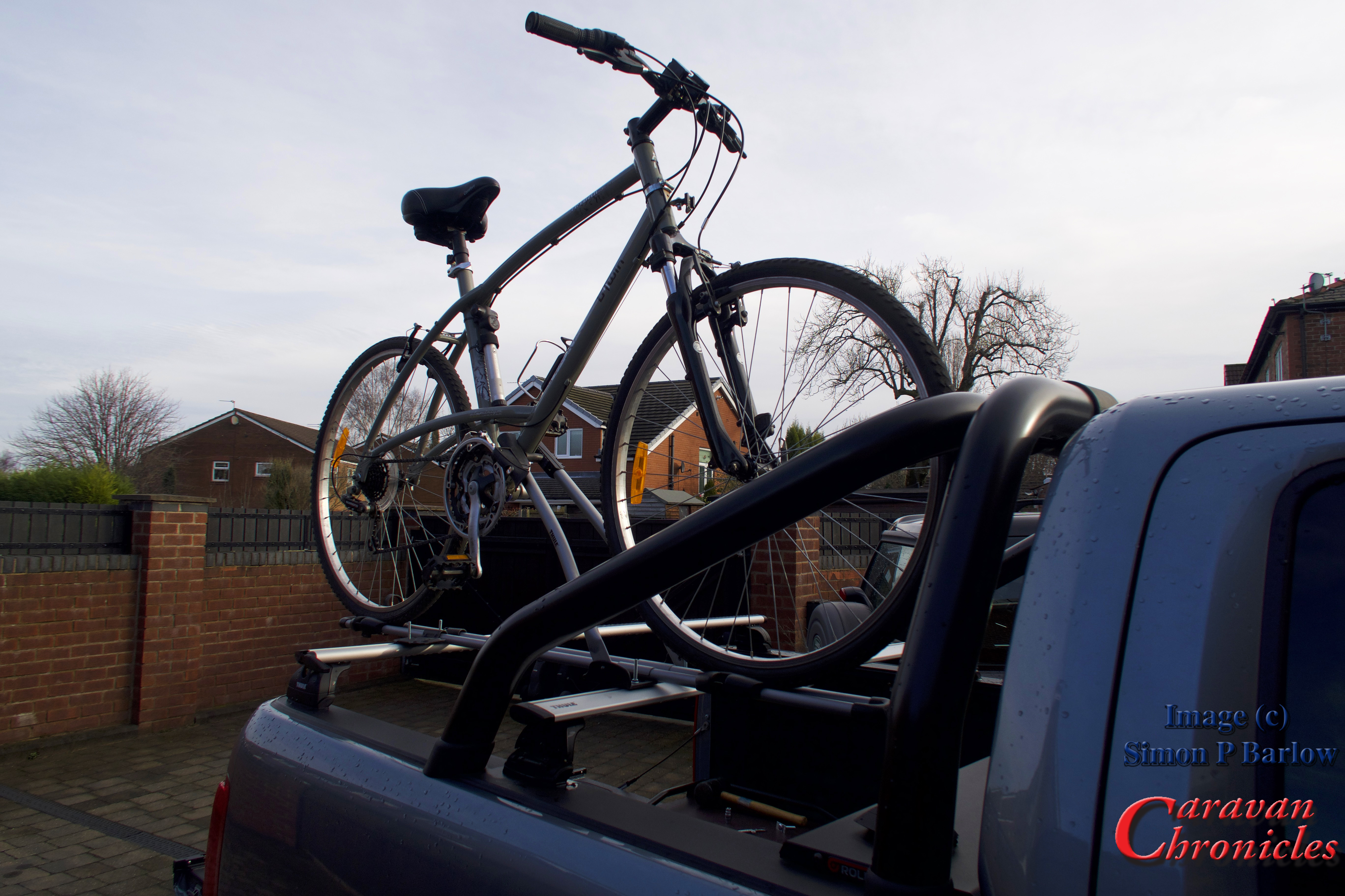 Fitting A Bike Rack To The Vw Amarok Part 2 Caravan