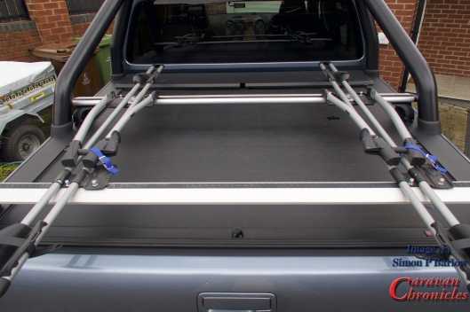 Fitting A Bike Rack To The Vw Amarok Finale Caravan